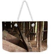 Old Barn Interior Weekender Tote Bag