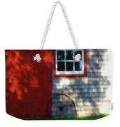 Old Barn New Paint Weekender Tote Bag