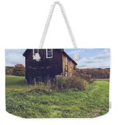 Old Barn Out In A Field Weekender Tote Bag