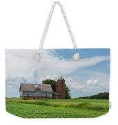 Old Barn Country Scene 4 B Weekender Tote Bag
