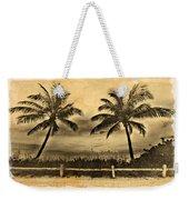 Old Beach Weekender Tote Bag