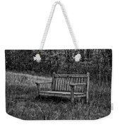 Old Bench Concord Massachusetts Weekender Tote Bag