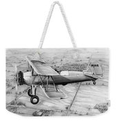 Old Bi Plane Weekender Tote Bag