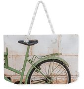 Old Bike Weekender Tote Bag
