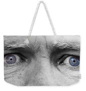 Old Blue Eyes Weekender Tote Bag by James BO  Insogna