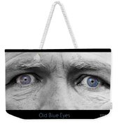 Old Blue Eyes Poster Print Weekender Tote Bag
