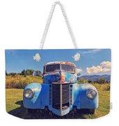 Old Blue Truck Vermont Weekender Tote Bag