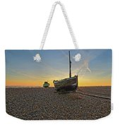 Old Boat, New Day Weekender Tote Bag