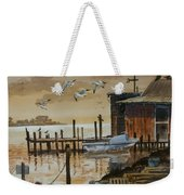 Old Boathouse Weekender Tote Bag