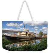 Old Boats Along The Exeter Canal 2 Weekender Tote Bag