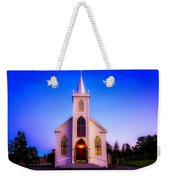 Old Bodega Church Sunset Weekender Tote Bag