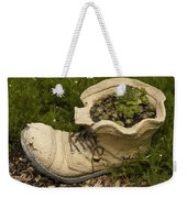 Old Boot Weekender Tote Bag