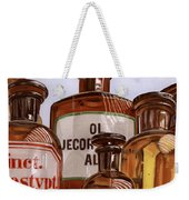 Old Bottles Weekender Tote Bag