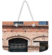 Old Brick Building Weekender Tote Bag