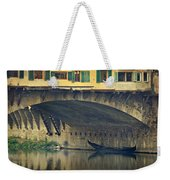 Ponte Vecchio Protection Weekender Tote Bag