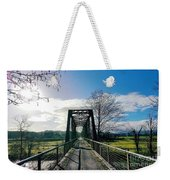 An Old Railroad Bridge  Weekender Tote Bag
