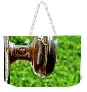 Old Brown Doorknob Weekender Tote Bag