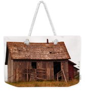 Old Building Weekender Tote Bag