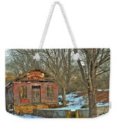 Old Building Weekender Tote Bag