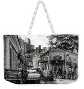 Old Buildings And Cars In Havana - V2 Weekender Tote Bag