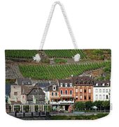 Old Buildings And Vineyards Weekender Tote Bag