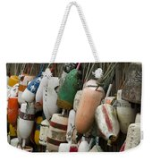 Old Buoys Hanging Out Weekender Tote Bag