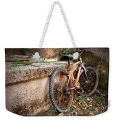 Old Bycicle Weekender Tote Bag