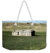 Old Cabin On The Plains Weekender Tote Bag