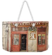 Old Cafe- Santander Spain Weekender Tote Bag by Tomas Castano