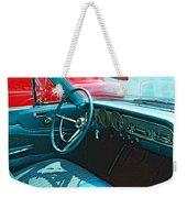 Old Car Interior Weekender Tote Bag