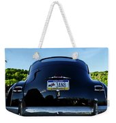 Old Car Trunk With Artistic Background Weekender Tote Bag