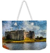 Old Castle Weekender Tote Bag