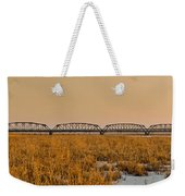 Old Cedar Road Bridge Weekender Tote Bag