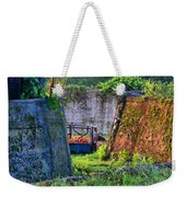 Old Cement Walls Weekender Tote Bag