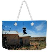Old Chapel On Route 66 In Newkirk Nm Weekender Tote Bag