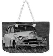 Old Chevy By The Levee Weekender Tote Bag