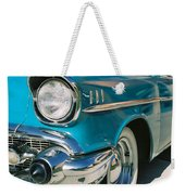 Old Chevy Weekender Tote Bag by Steve Karol