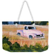 Old Chevy Truck Weekender Tote Bag