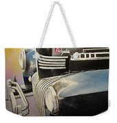 Old Chrysler Weekender Tote Bag
