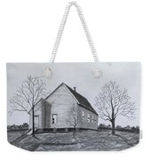 Old Church At Beatties  Ford Weekender Tote Bag