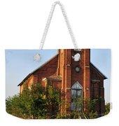 Old Church Weekender Tote Bag