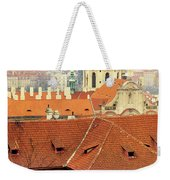 Old Church In Prague Weekender Tote Bag