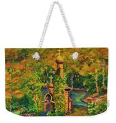 Old Church On The River Weekender Tote Bag