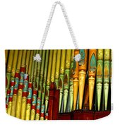 Old Church Organ Weekender Tote Bag