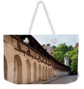Old City Wall In St Alban Basel Switzerland Weekender Tote Bag