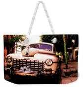Old Classic Dodge, On The Streets Of Buenos Aires Weekender Tote Bag