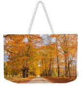 Old Coach Road Autumn Weekender Tote Bag