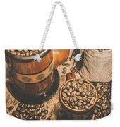 Old Coffee Brew House Beans Weekender Tote Bag