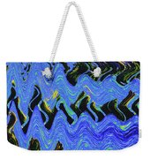 Old Columbia River Water Front Abstract Weekender Tote Bag
