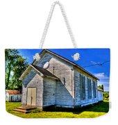 Old Country Church Weekender Tote Bag